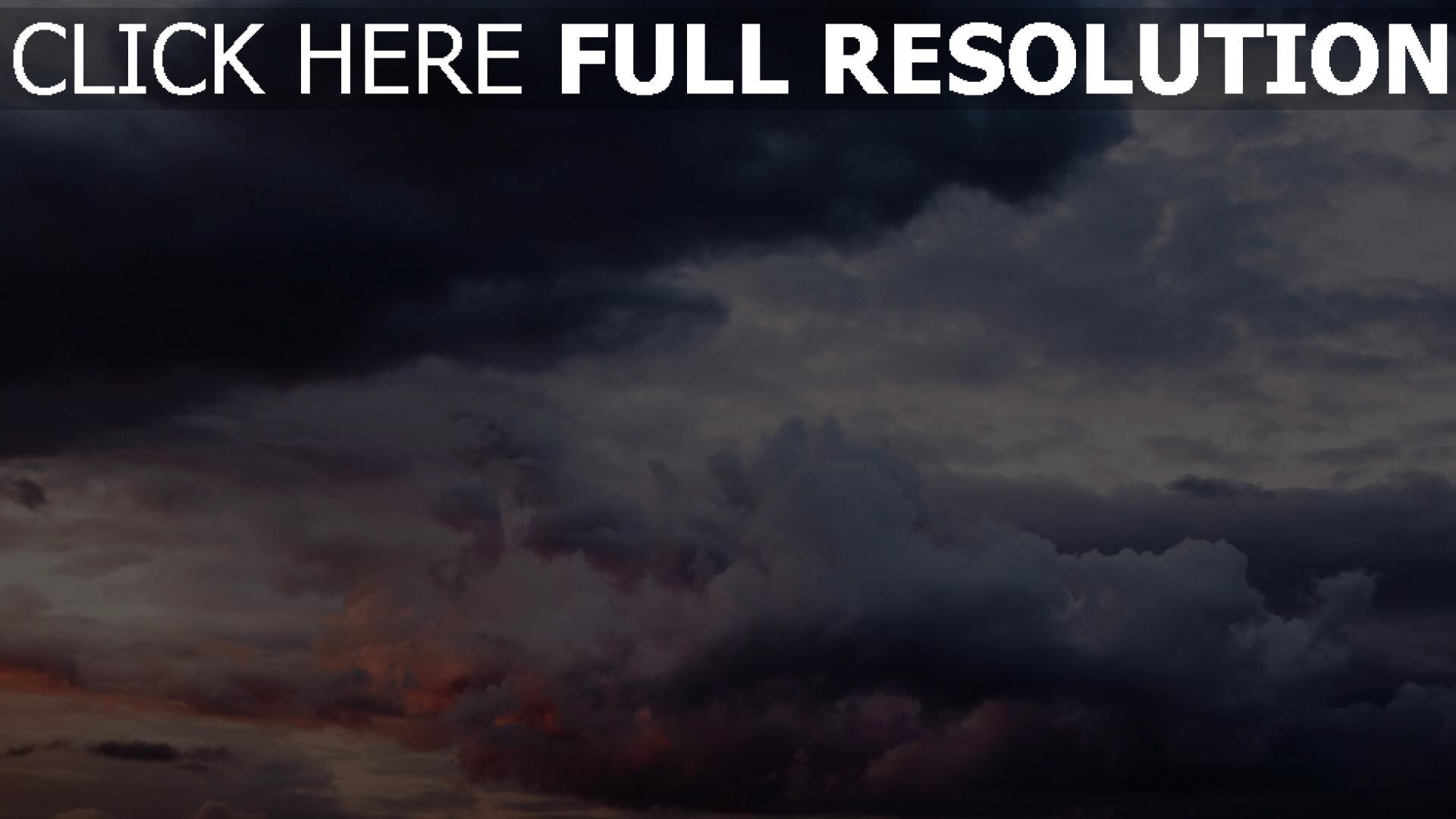 hd hintergrundbilder himmel wolken bewölkt 1920x1080