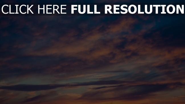 hd hintergrundbilder porös wolken sonnenuntergang