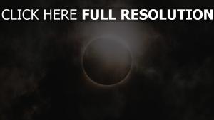 eklipse himmel mond sonne