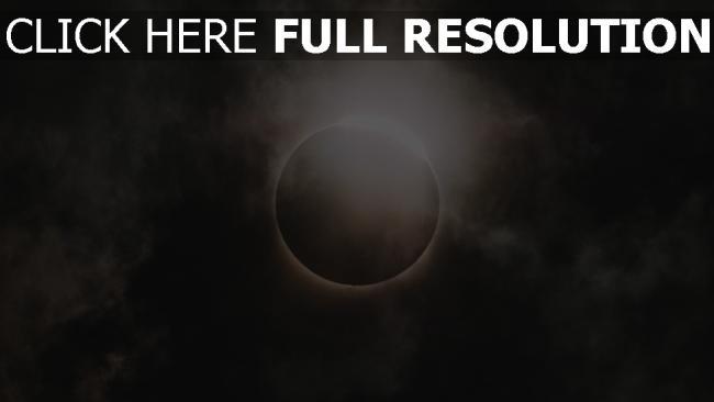 hd hintergrundbilder eklipse himmel mond sonne