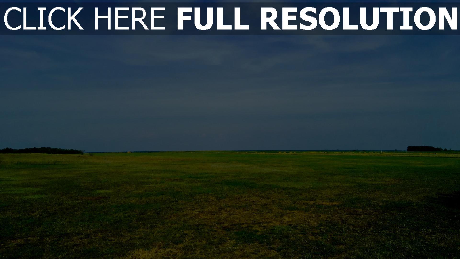hd hintergrundbilder feld gras himmel sommer 1920x1080