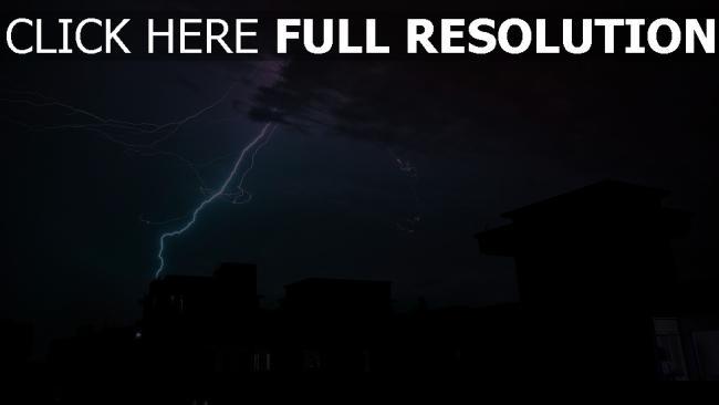 hd hintergrundbilder blitz nacht bewölkt gewitter wolken