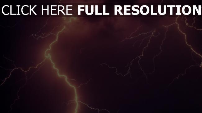 hd hintergrundbilder bewölkt himmel gewitter blitz