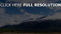 gipfel wolken berge