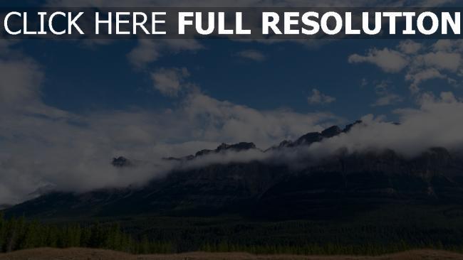 hd hintergrundbilder gipfel wolken berge