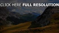italien berge südtirol dolomiten