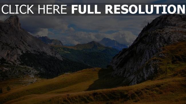 hd hintergrundbilder italien berge südtirol dolomiten
