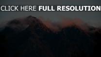 nebel berge himmel
