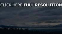 himmel entfernung berge