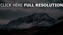 berge gipfel schneebedeckt