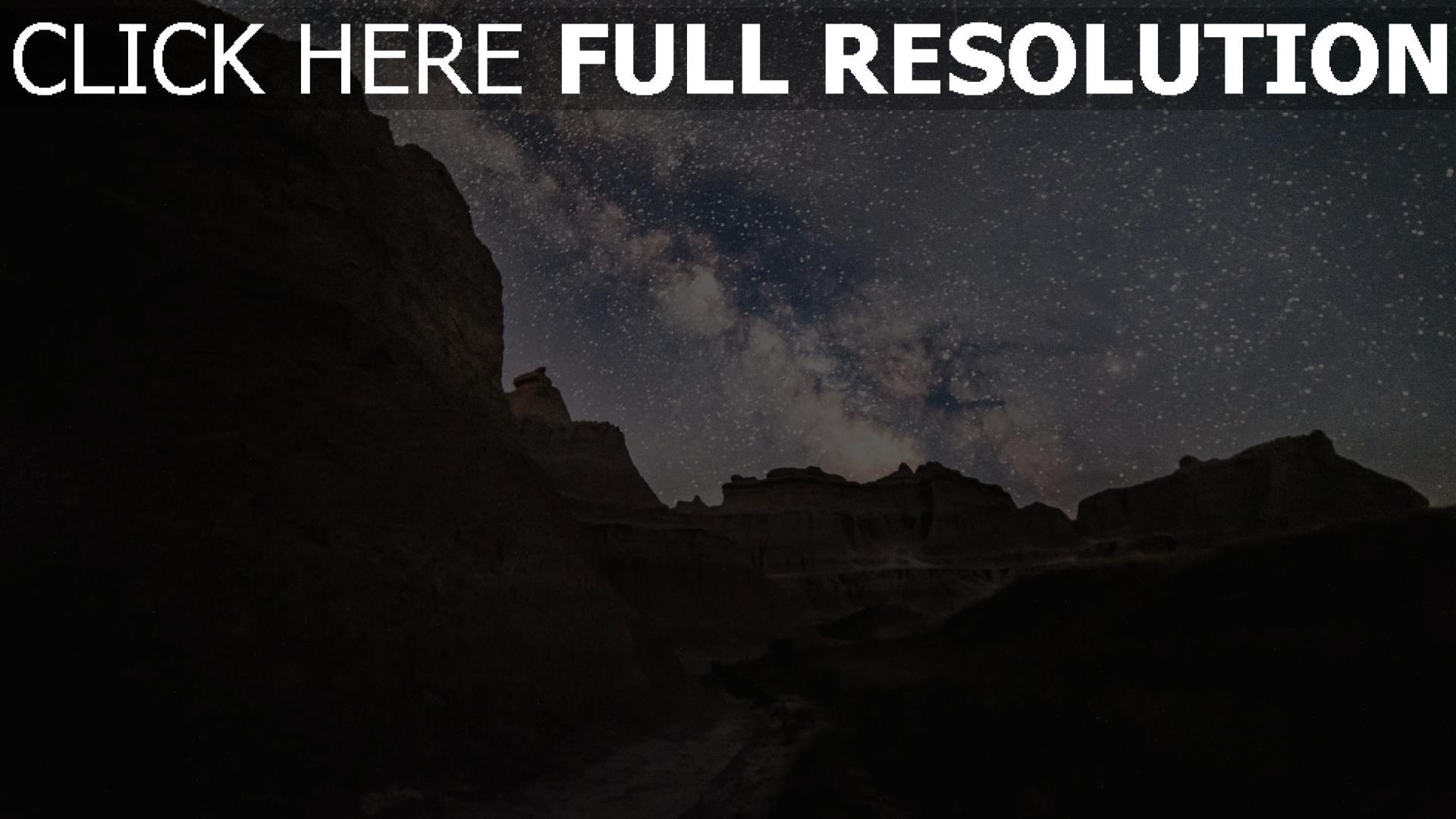hd hintergrundbilder berge sterne sternenhimmel  desktop hintergrund