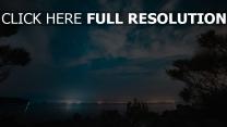 himmel nacht sternenhimmel fluss