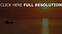 sonne horizont sonnenuntergang meer