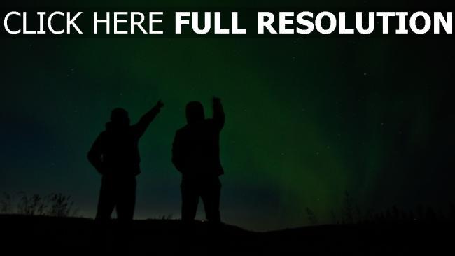 hd hintergrundbilder silhouetten nacht sternenhimmel