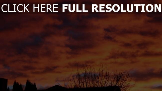 hd hintergrundbilder himmel wolken sonnenuntergang