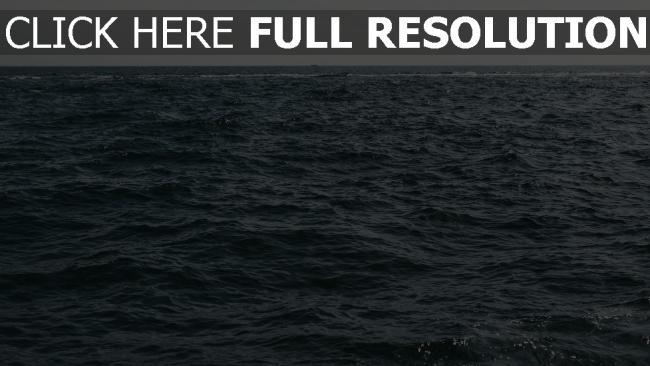 hd hintergrundbilder wellen wasser horizont meer