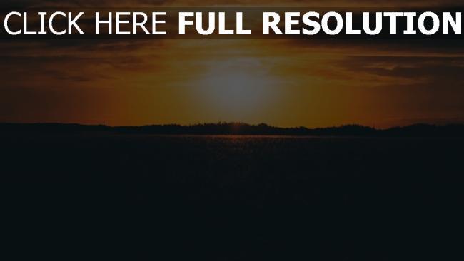 hd hintergrundbilder gras sonnenuntergang feld himmel