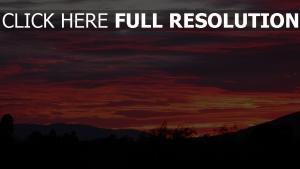 wolken himmel sonnenuntergang