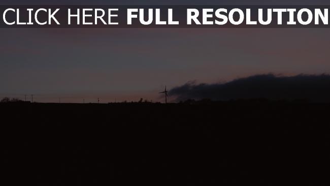 hd hintergrundbilder sonnenuntergang windgenerator himmel