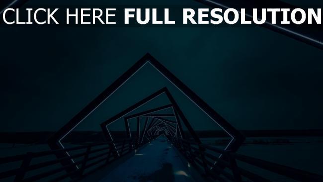 hd hintergrundbilder hintergrundbeleuchtung brücke architektur nacht