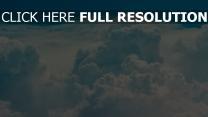 himmel porös wolken