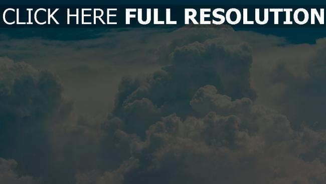 hd hintergrundbilder himmel porös wolken