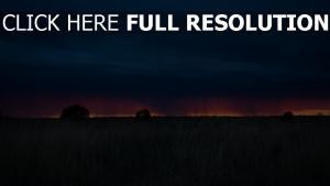 wolken sonnenuntergang gras feld