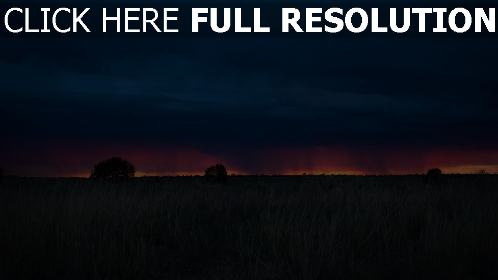 hd hintergrundbilder wolken sonnenuntergang gras feld 1920x1080