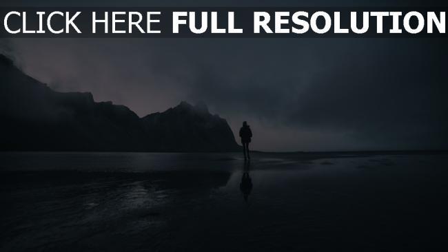 hd hintergrundbilder menschen ozean spaziergang strand berg einsamkeit
