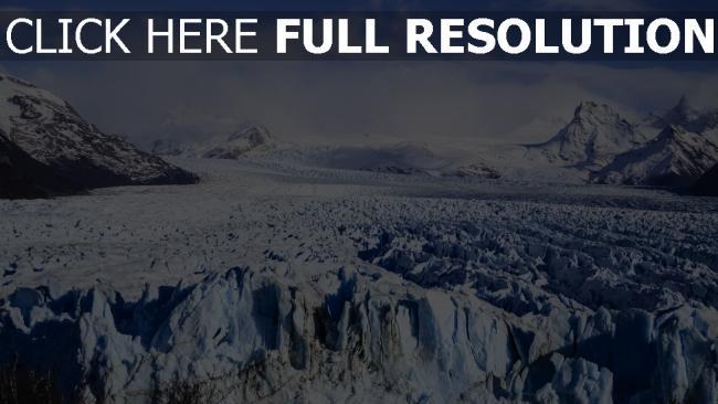 hd hintergrundbilder moreno argentinien gletscher el calafate
