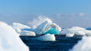 eis gletscher vatnajökull schnee island