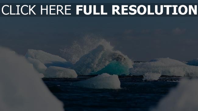 hd hintergrundbilder eis gletscher vatnajökull schnee island