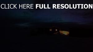 licht nacht haus sternenhimmel