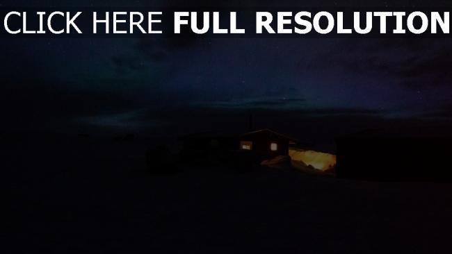 hd hintergrundbilder licht nacht haus sternenhimmel