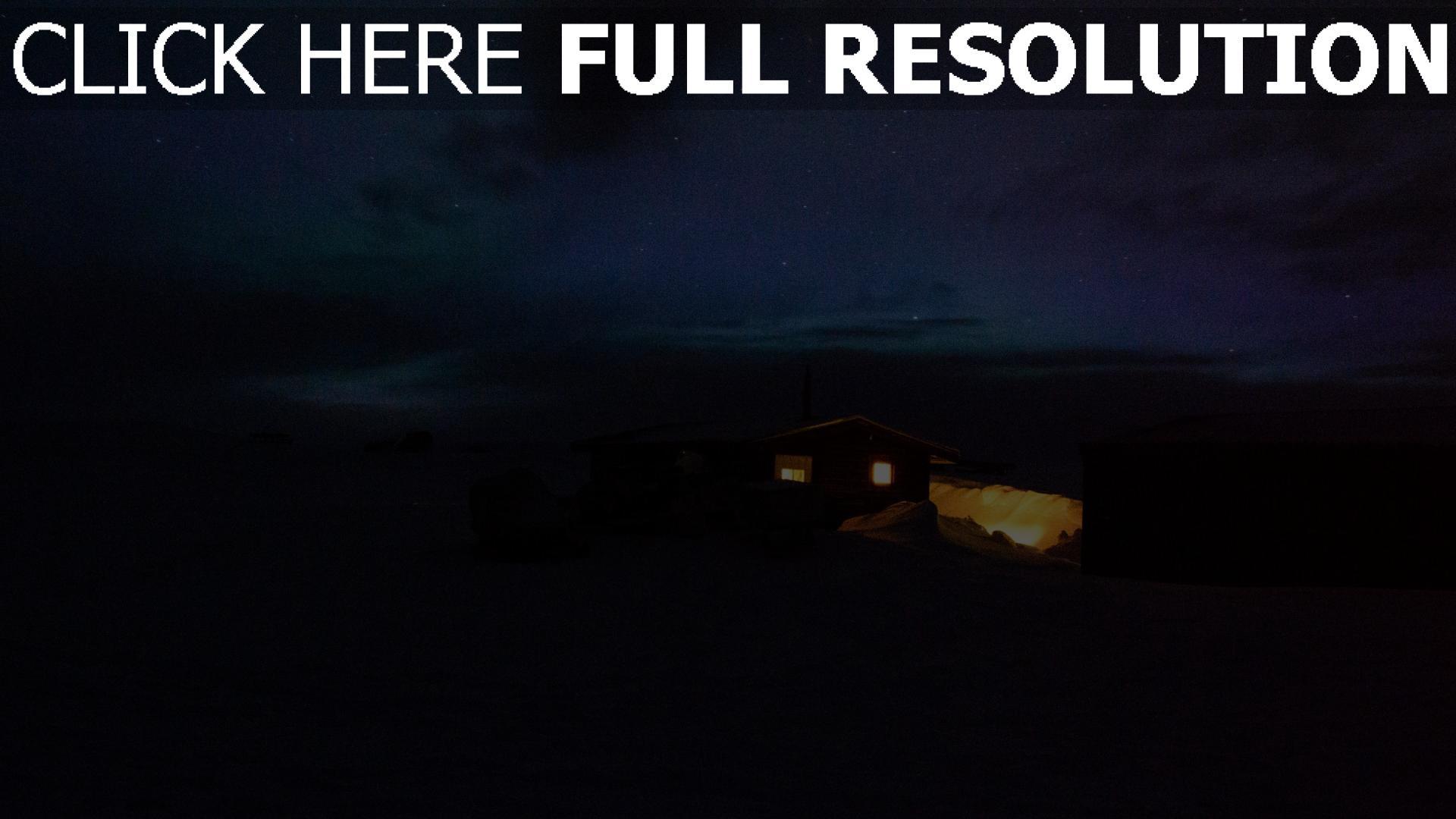 hd hintergrundbilder licht nacht haus sternenhimmel 1920x1080
