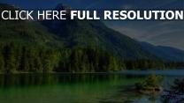 sommer befriedung berge see