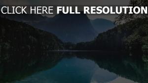 reflexion berge see