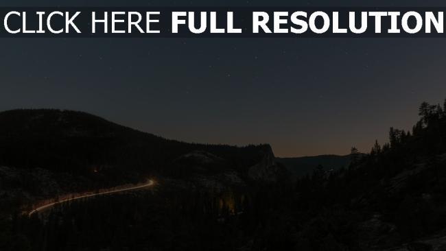 hd hintergrundbilder nacht himmel sternenhimmel berge ansicht von oben sterne
