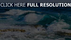 steine schaum strand meer ozean