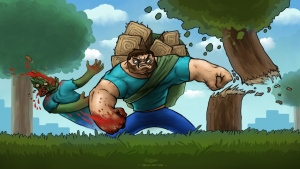 minecraft versagen schlaganfall zombies blut