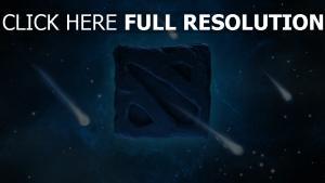 dota 2 logo raum meteoriten