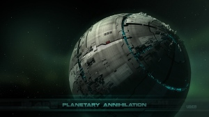 planetary annihilation rts raum station