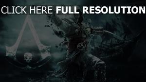 assassins creed assassin pirat schiff
