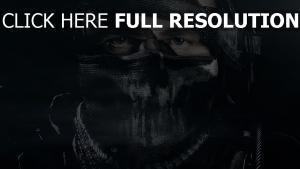 call of duty ghosts maske gesicht verkleidung