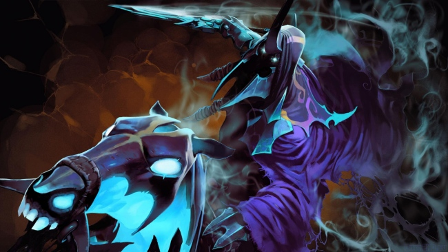 hd hintergrundbilder dota 2 abaddon lord of avernus