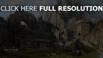 witcher 3 wild hunt schloss ruinen berge
