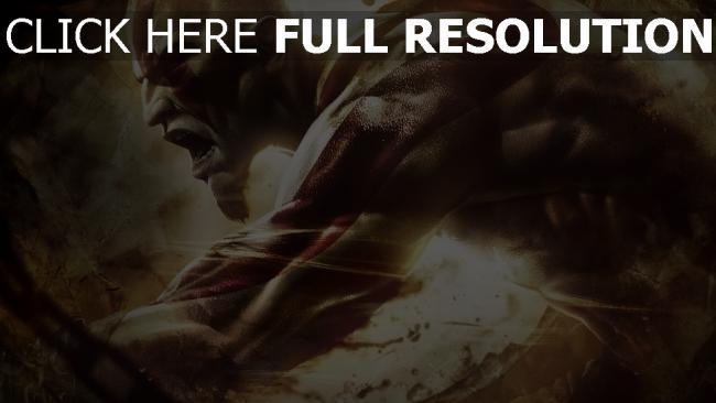 hd hintergrundbilder god of war ascension kratos