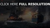 world of warships wows schlachtschiff schlacht