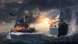world of warships wows schlachtschiff schlacht
