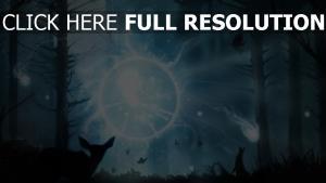 dota 2 art holz leuchten magie